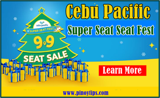 P1 Base Fare Cebu Pacific Super Seat Sale Fest 2020