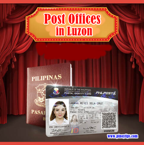 Philippine Postal ID Capturing Stations in Luzon