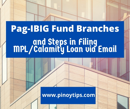 List of Pag-IBIG Fund Branches that Opens on May 18, 2020